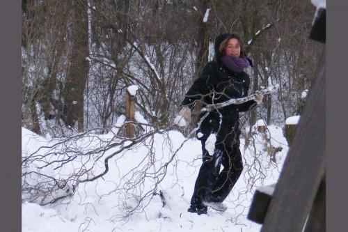 Bábuska az orosz télben