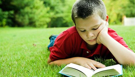 olvasó gyerek