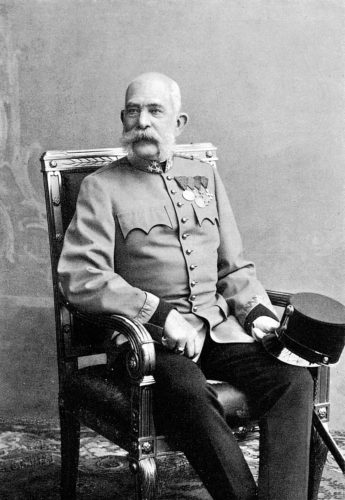 Undated photograph of the Austrian emperor Franz Joseph I (1830-1916). He was also king of Hungary.